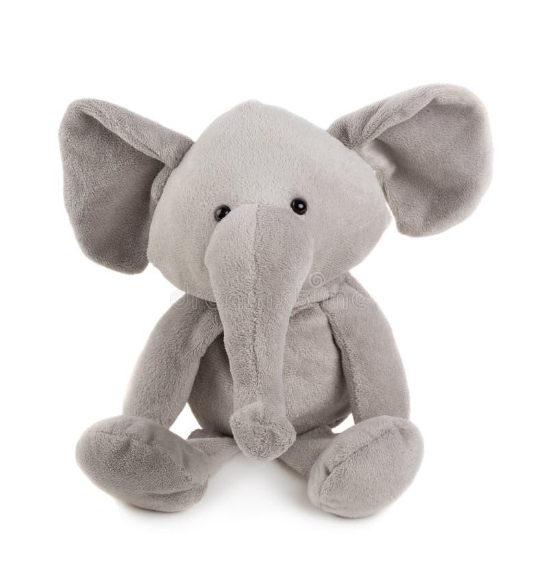Elefante gris del juguete imagenes de archivo