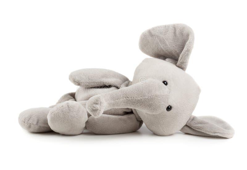 Elefante gris del juguete fotos de archivo libres de regalías