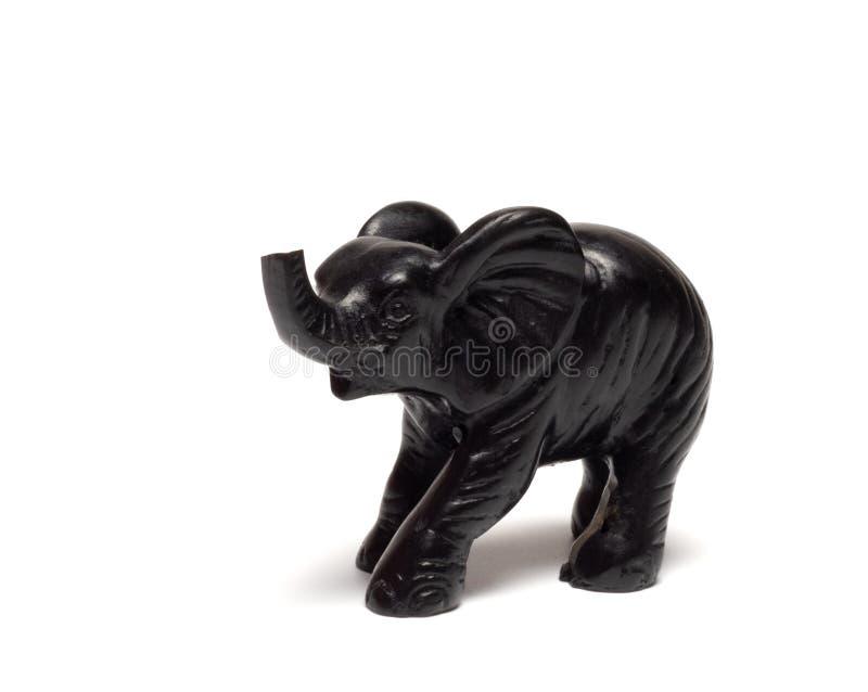 Elefante negro fotografía de archivo