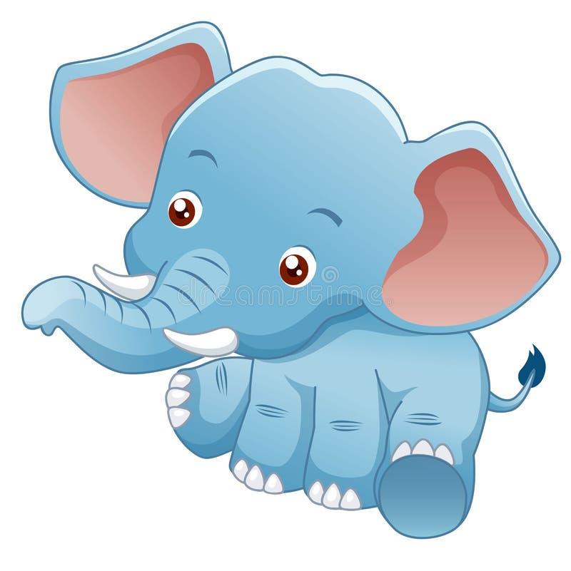 Elefante pequeno ilustração do vetor
