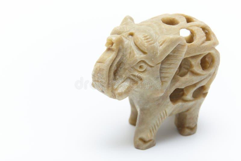 elefante retro del jade fotografía de archivo