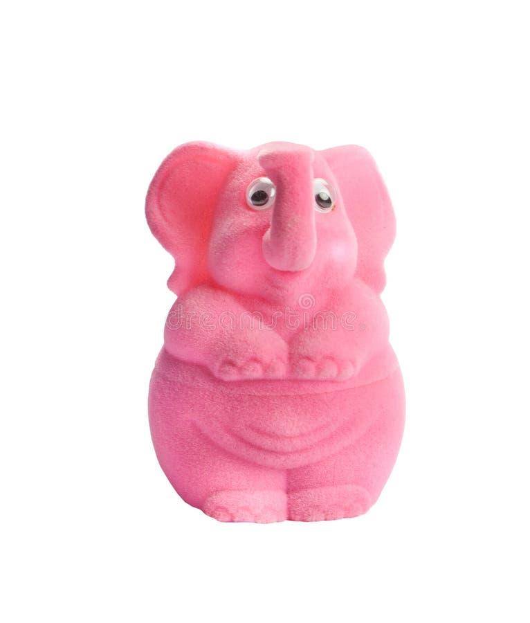 Elefante rosado fotografía de archivo libre de regalías