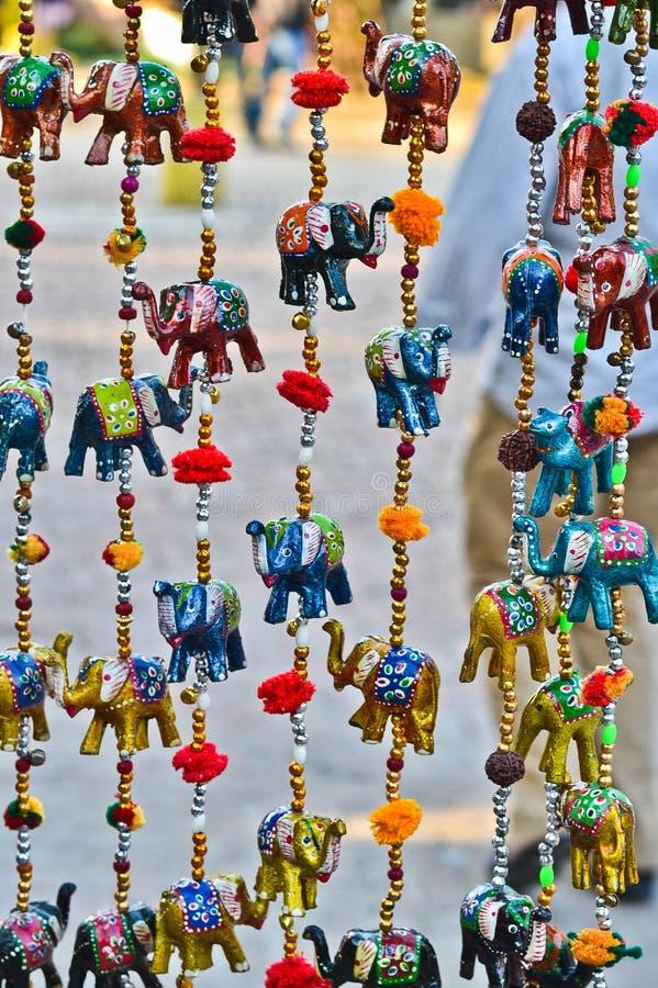 Elefantes de la ejecución imagen de archivo libre de regalías