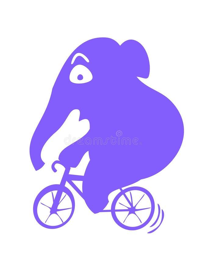 Elefantfahrt lizenzfreie stockfotos