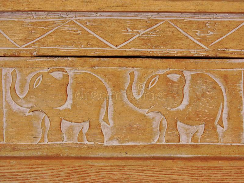 Elefantfrieden lizenzfreies stockfoto