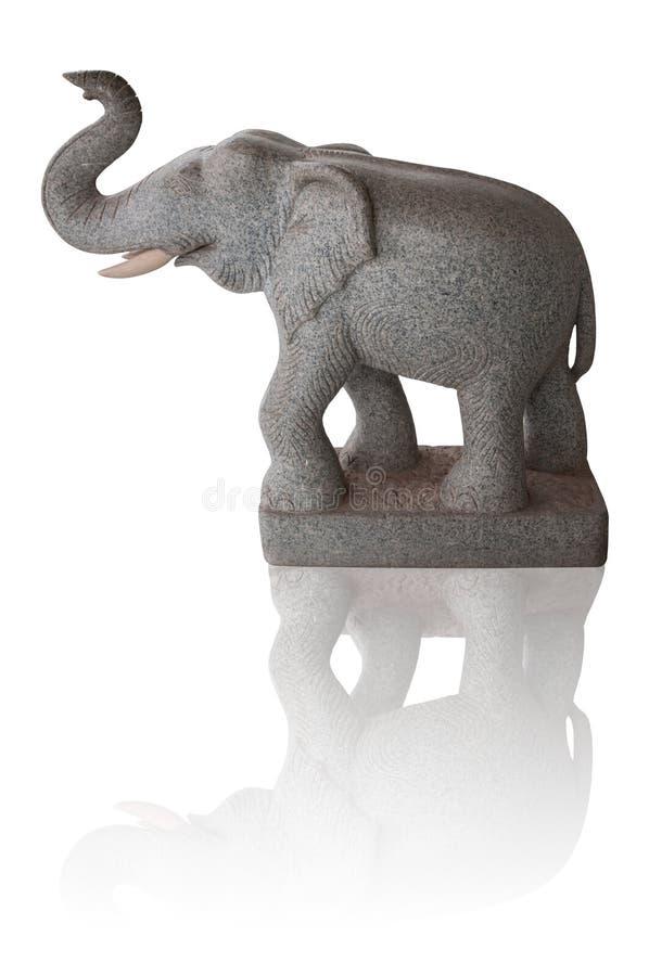 Elefantstatus stockfotografie