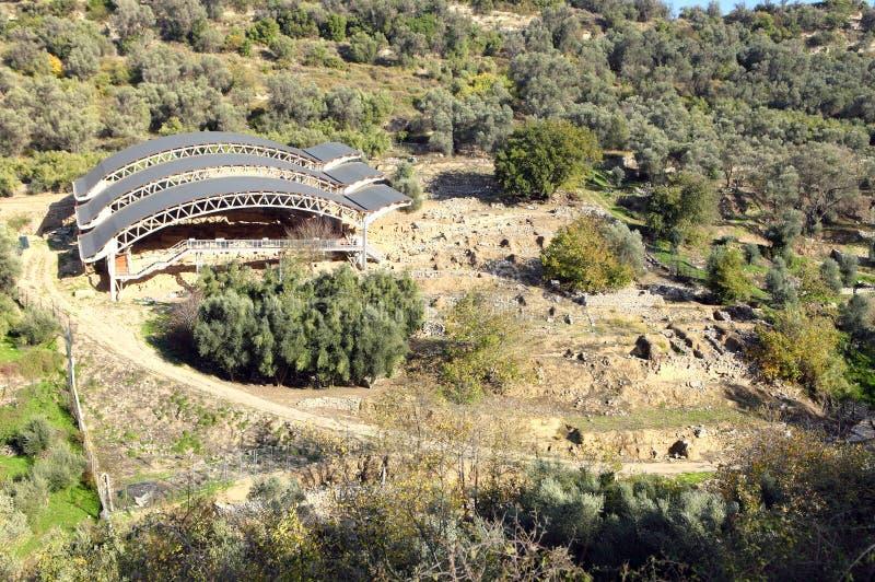 Eleftherna Archaeology, Crete Stock Photo