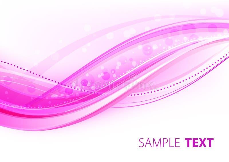 Elegância cor-de-rosa brilhante ilustração royalty free
