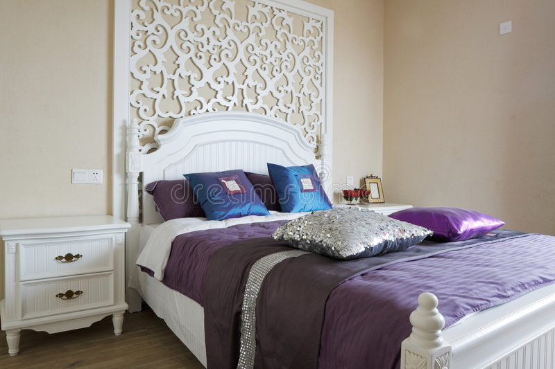 Download Elegance Bedroom Interior Royalty Free Stock Photography - Image: 9359327