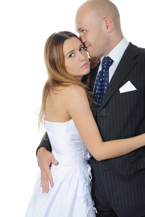 Download Elegance bride and groom stock photo. Image of love, face - 16493492