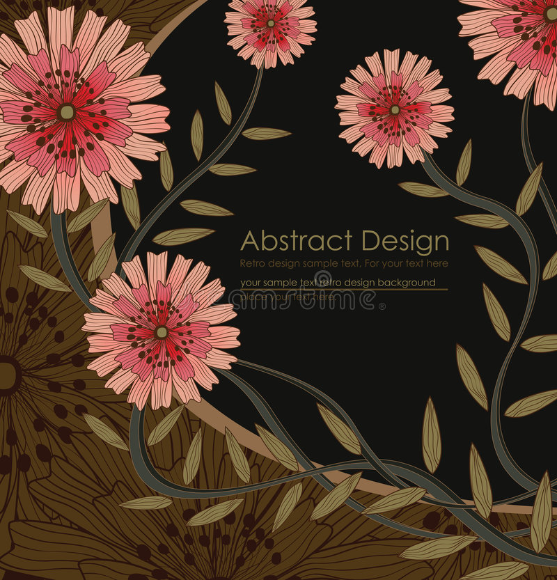 Download Elegance floral background stock vector. Illustration of graphic - 7769131