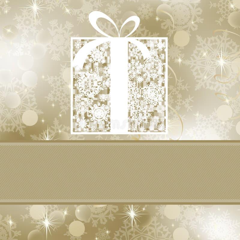 Elegance gift box. EPS 8