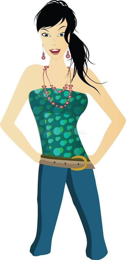 Download Elegance green stock image. Image of portrait, shape, elegance - 8390245