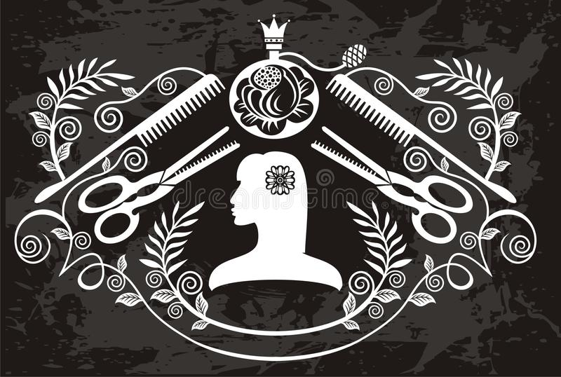 Elegance Label For The Beauty Salon Royalty Free Stock Image