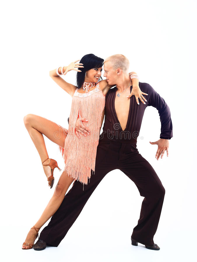 Download Elegance Latino Dancers In Action Stock Photo - Image: 28235514