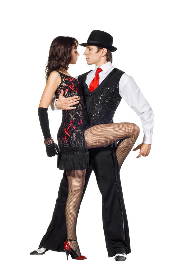 Download Elegance tango dancers stock photo. Image of expression - 17638042