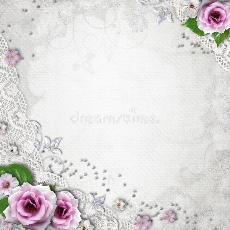 Elegance wedding background vector illustration