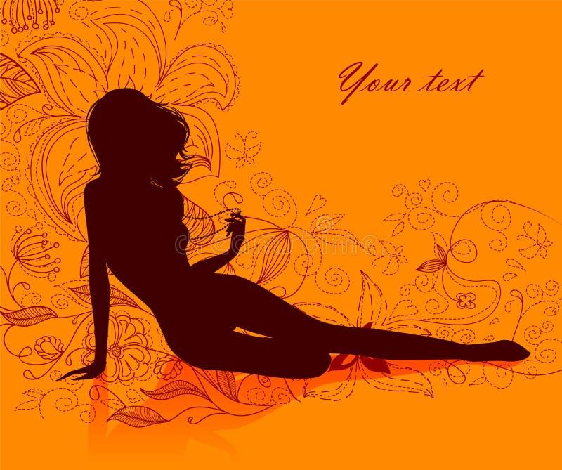 Download Elegance woman stock vector. Illustration of cosmetics - 18404524