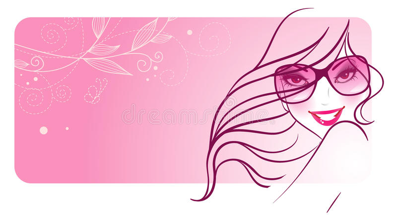 Download Elegance woman stock vector. Illustration of lady, hair - 18404588