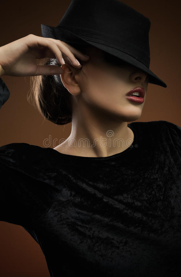 elegancka dama fotografia royalty free