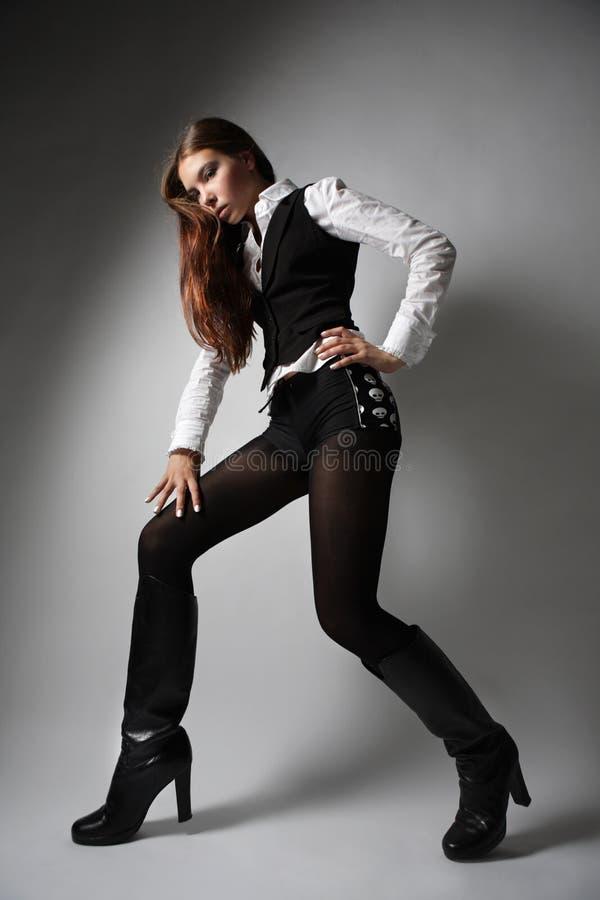 elegancka dziewczyna obraz stock
