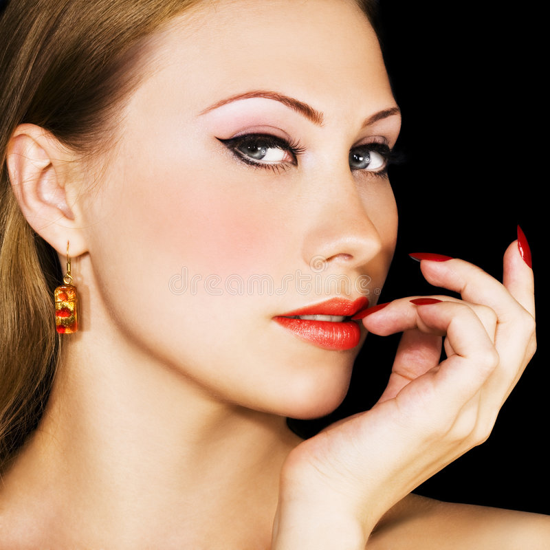 elegancka kobieta fotografia stock