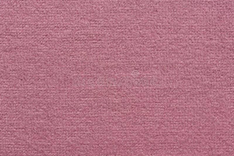 Elegancka różowa tkaniny tekstura z prostą powierzchnią zdjęcie royalty free