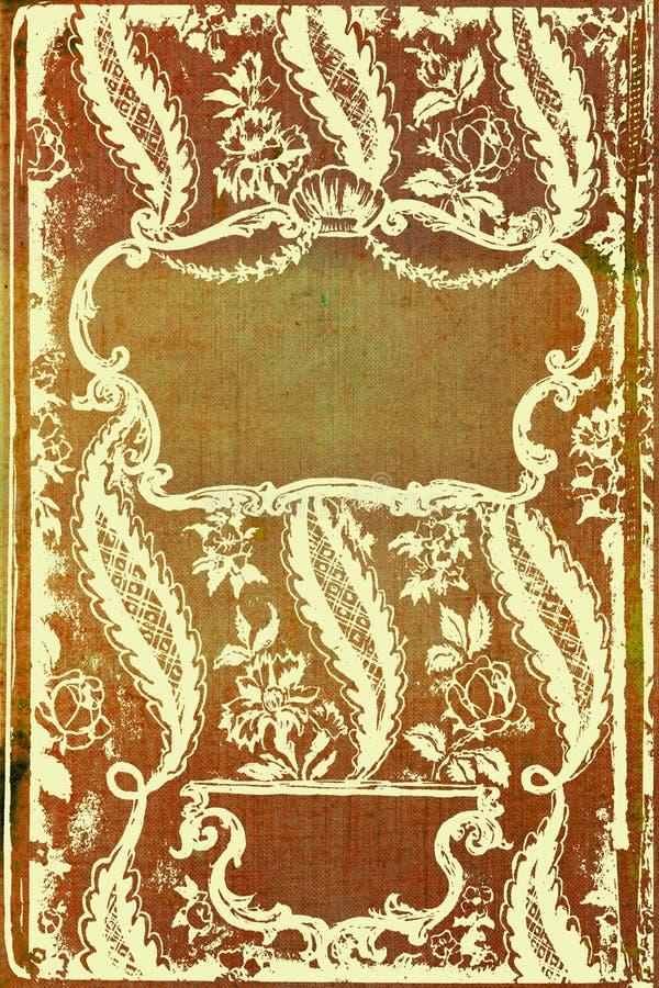 Elegancka rocznik granicy rama royalty ilustracja