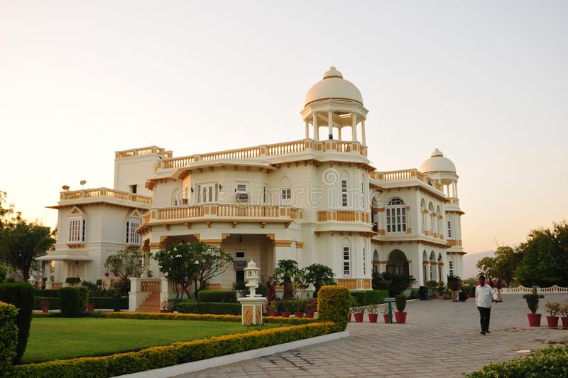 Elegancki Balaram dziedzictwa hotel, Gujarat blisko Ahmedabad w Gujara obraz royalty free