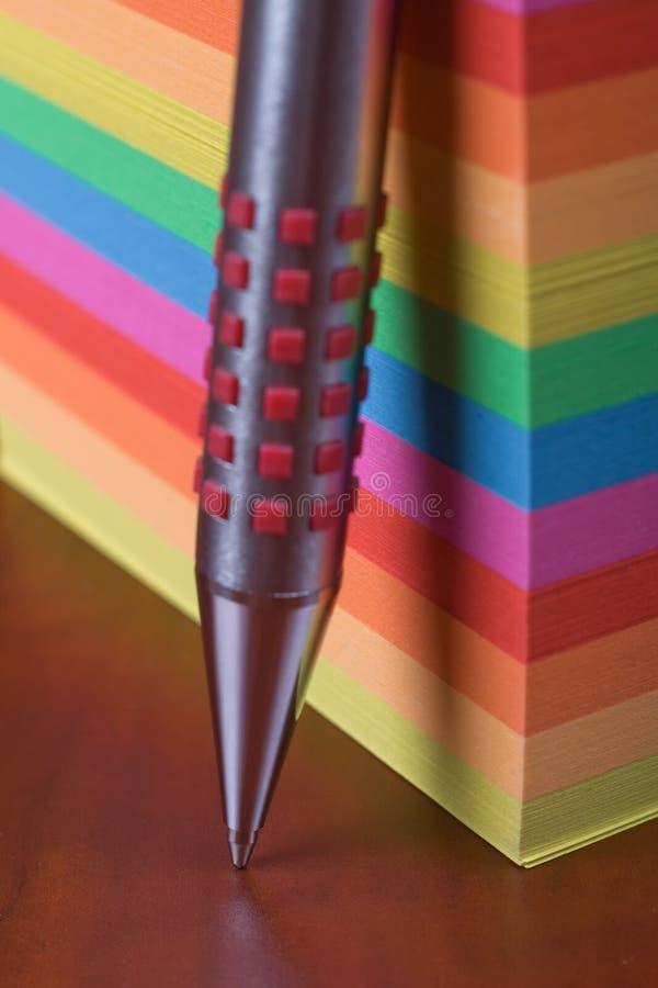 elegancki ballpoint pióro zdjęcie stock