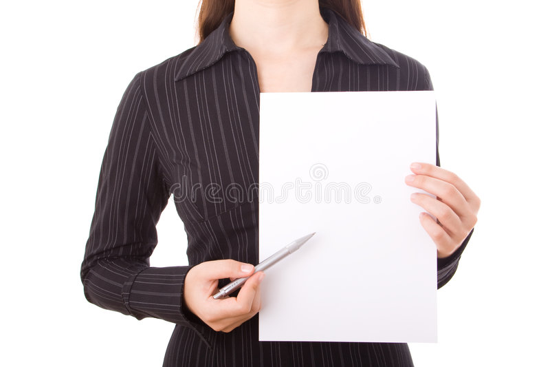elegancki bizneswoman obraz stock