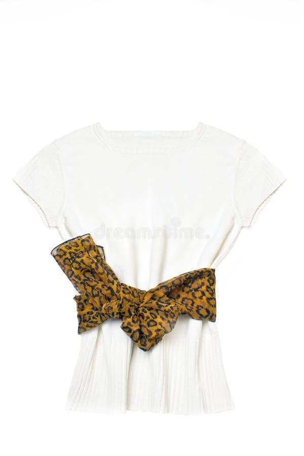 elegancki bluzka biel zdjęcia royalty free