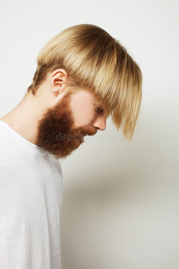 Download Elegancki Brodaty Mężczyzna Zdjęcie Stock - Obraz złożonej z blank, wyznaczający: 53787650