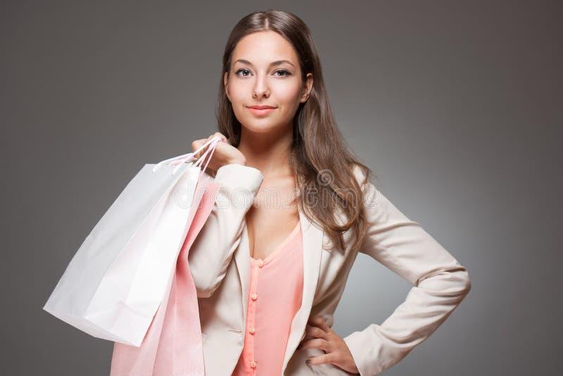 Elegancki chłodno zakupy piękno. fotografia stock