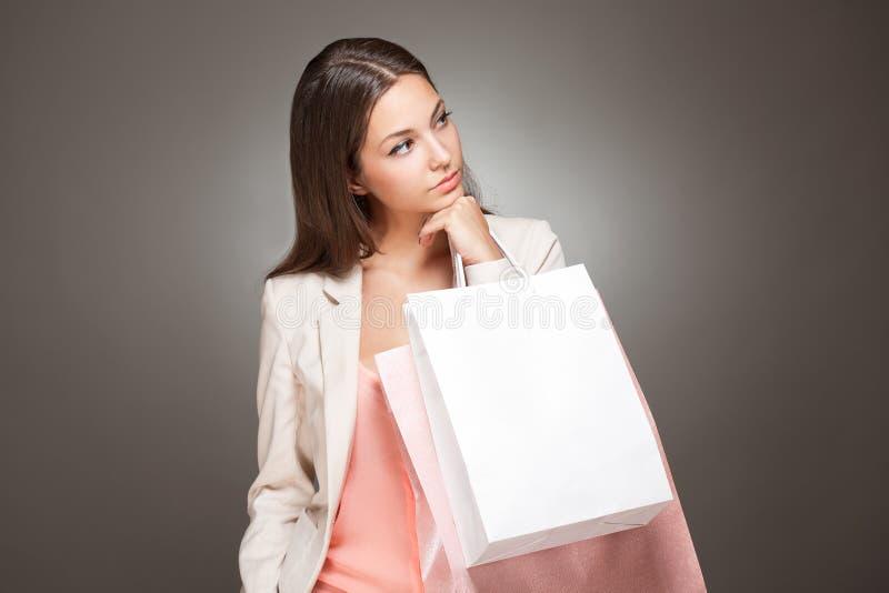 Elegancki chłodno zakupy piękno. zdjęcie royalty free