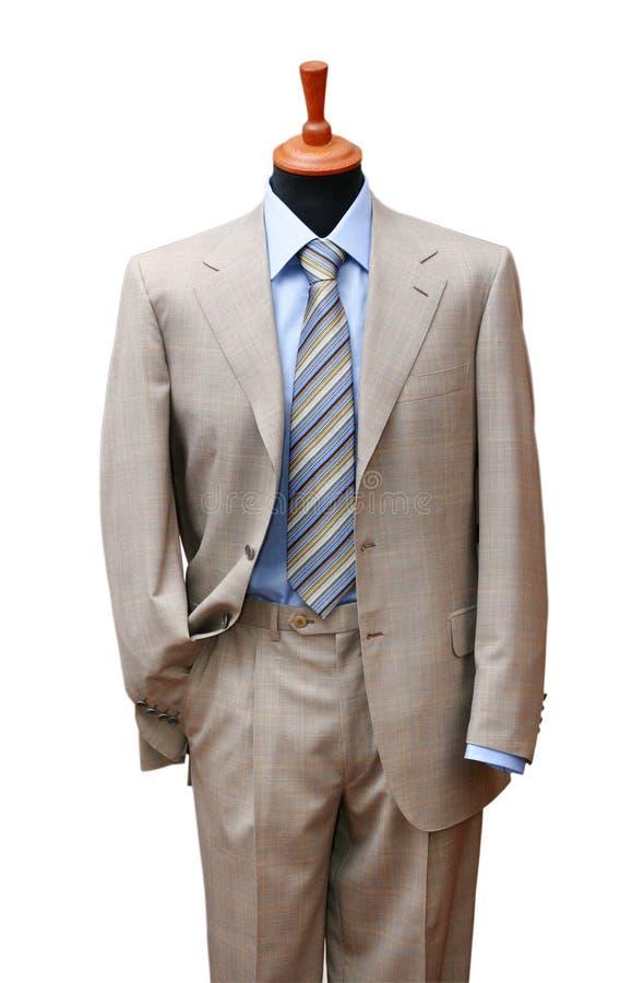 elegancki garnitur sklepowy manekin obrazy stock