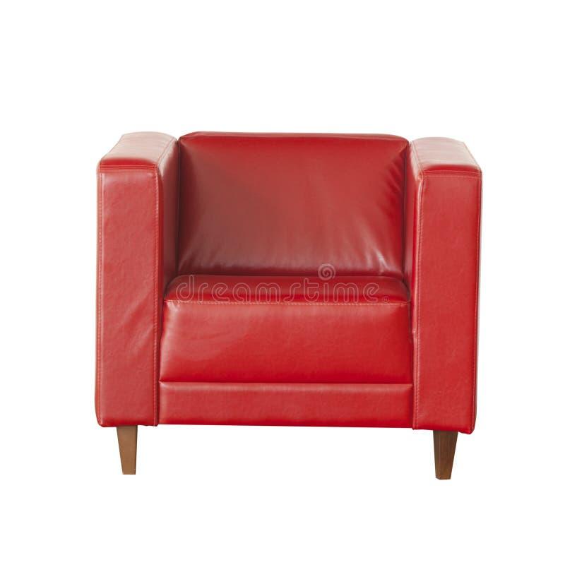 Elegancki karło odizolowywający na białym tle czerwona skóra obrazy stock