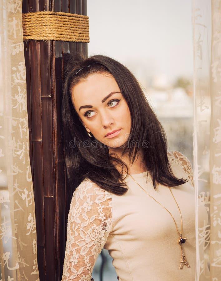 Elegancki kobieta portret obrazy royalty free