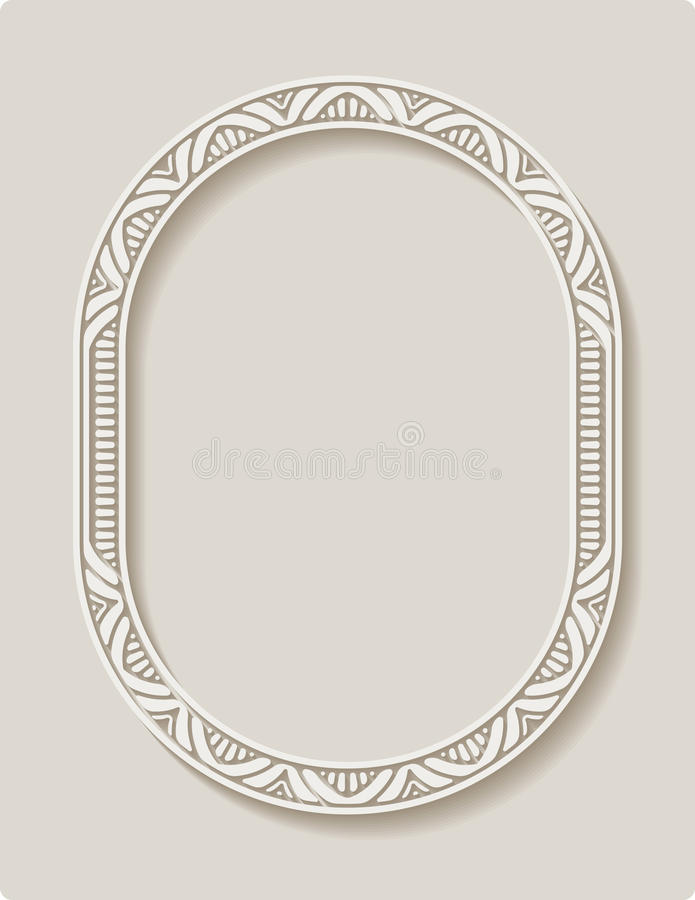 Elegancki koronkowy kartka z pozdrowieniami, ślubny zaproszenie t lub zawiadomienie, ilustracja wektor