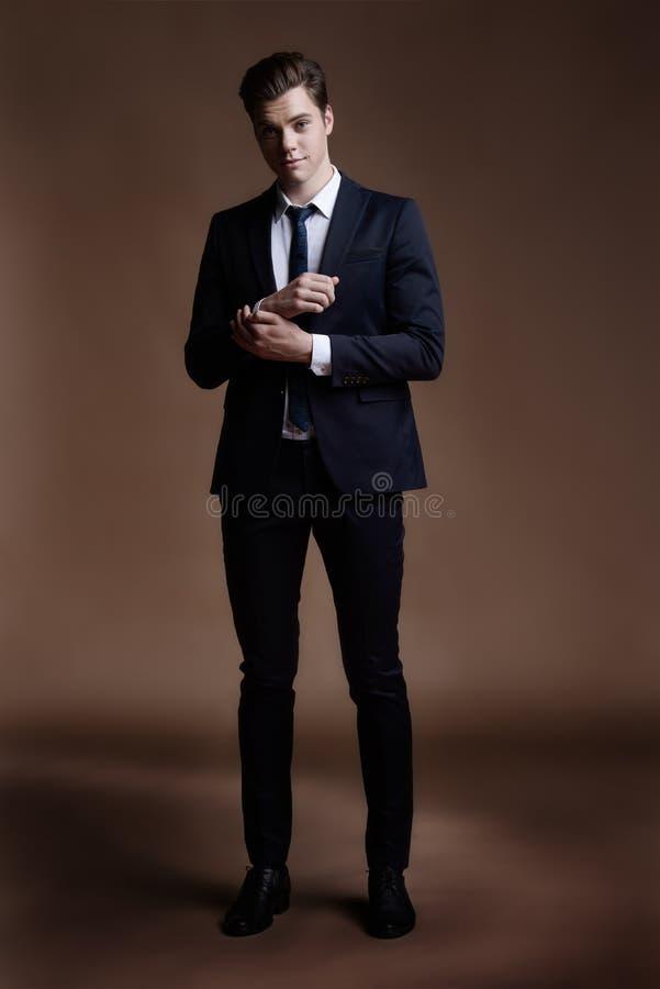 Elegancki kostium dla dandy zdjęcie stock