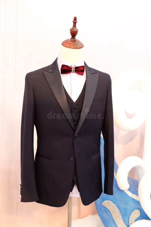 Elegancki kostium z cravat, adobe rgb zdjęcie royalty free