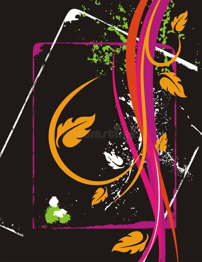 elegancki kwiecisty tła ilustracja wektor