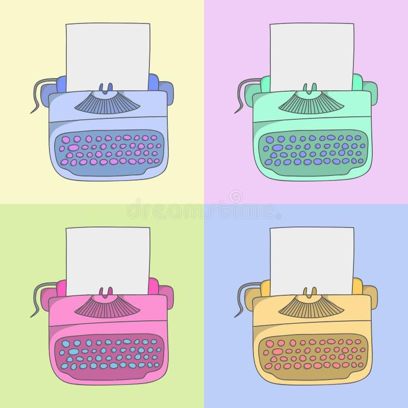 Elegancki maszyna do pisania zdjęcia stock