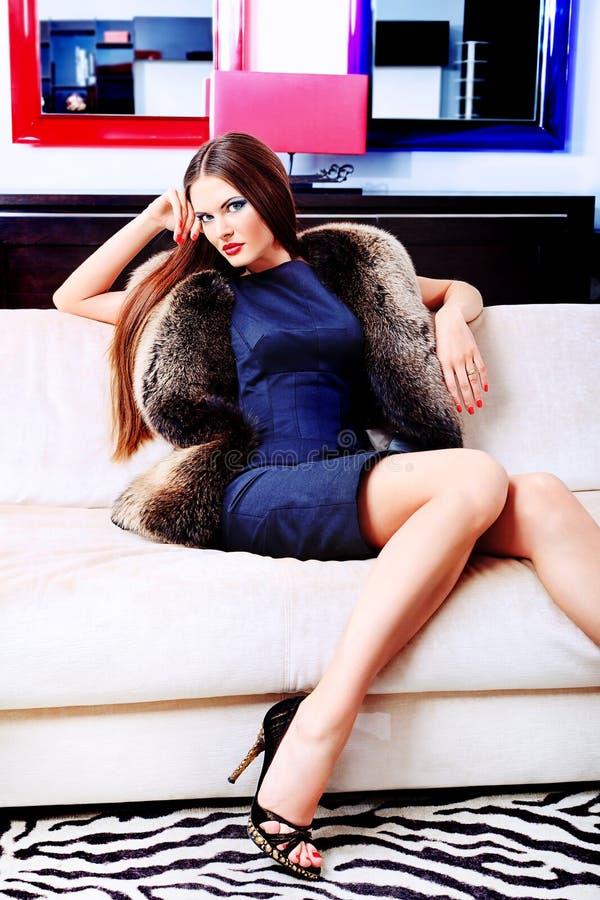 Elegancki model obraz royalty free