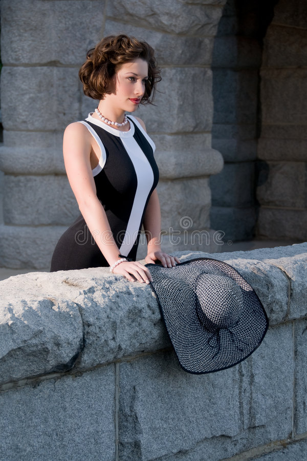 elegancki mody lato obrazy royalty free