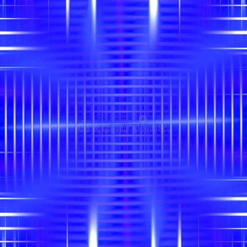 Elegancki olśniewający błękitny abstrakcjonistyczny tło ilustracja wektor