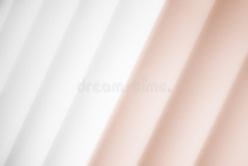 Elegancki pasiasty brązowy tło wzoru fading w biel przestrzeń ilustracji