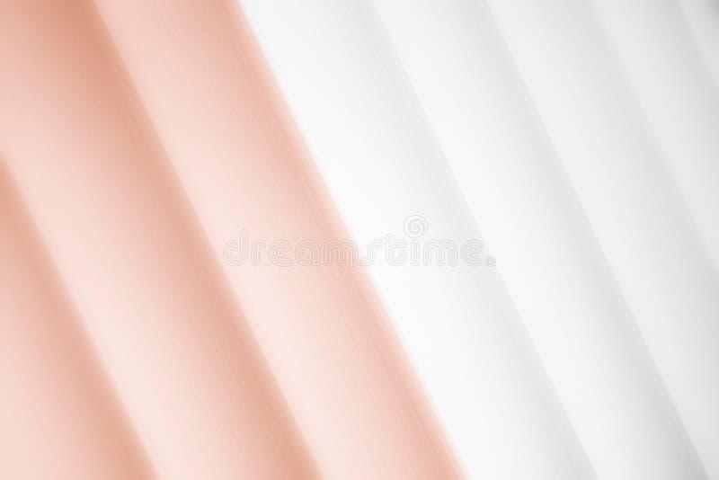 Elegancki pasiasty cappuccino tła wzoru fading w biel przestrzeń royalty ilustracja