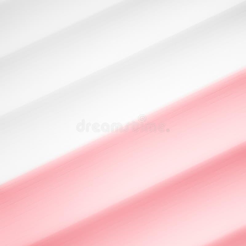 Elegancki pasiasty czerwony tło wzoru fading w biel przestrzeń ilustracji