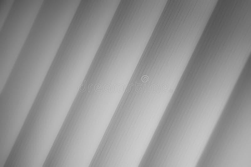 Elegancki pasiasty popielaty tło wzoru fading w biel przestrzeń royalty ilustracja